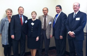 Members of W-2001 (E. Helen Berry, Joachim Singelmann, Nina Glasgow, Douglas Gurak, Howard Silver, and Kenneth Johnson) have briefed Congressional representatives on changing rural populations, helping these leaders make decisions that meet changing rural needs.