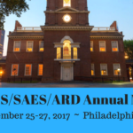 Fall ESS/SAES/ARD Meeting, Philadelphia, PA