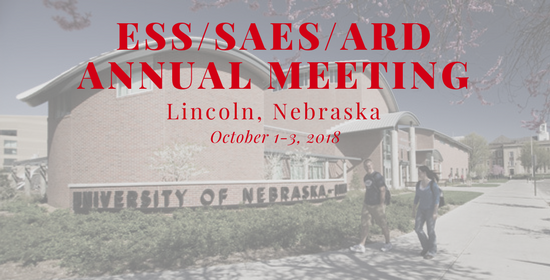 2018 ESS/SAES/ARD Annual Meeting