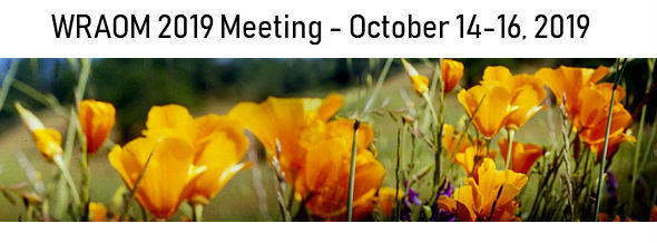 WRAOM 2019 Meeting – San Diego, CA – October 14-16, 2019