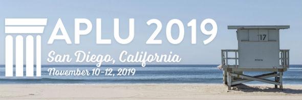 APLU 2019 Annual Meeting –  San Diego, CA – November 10-12, 2019
