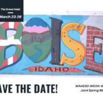 Save the Date! 2020 Joint Spring Meeting Postcard