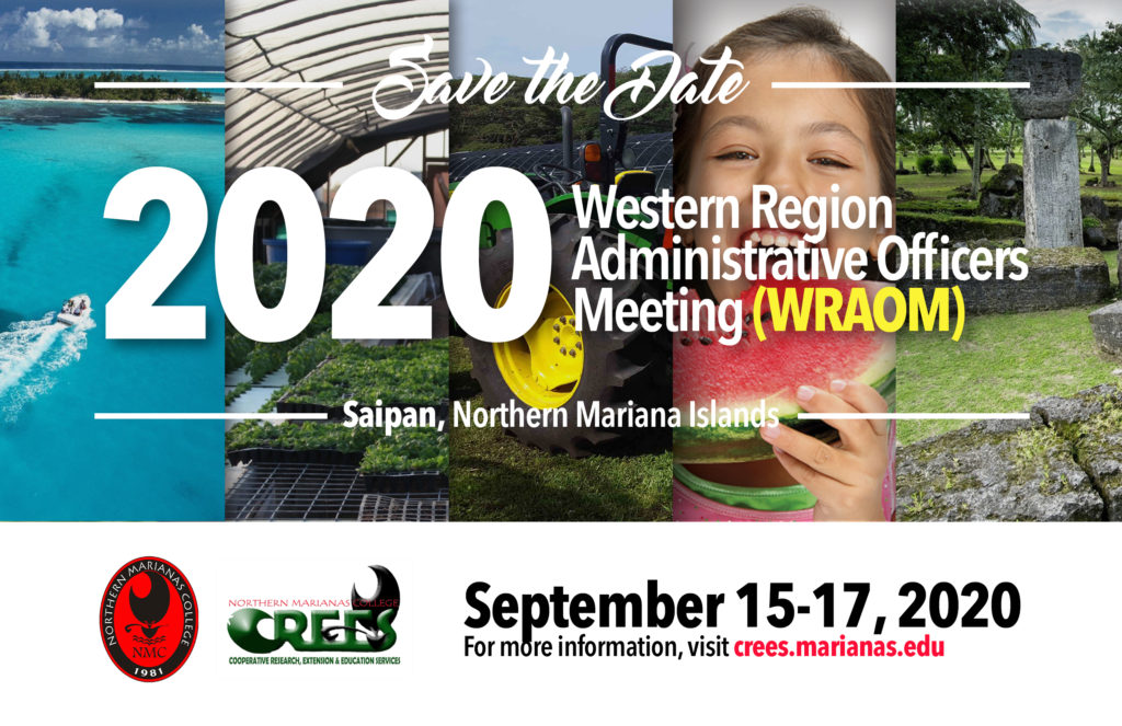 Save the Date - 2020 WRAC