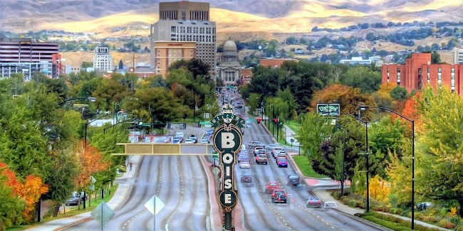 Scene of Boise, ID